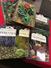 8  book Lot--Vintage-Time Life & Burpee  Gardening, Annuals, House Plants,