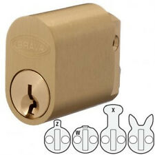 BRAVA 570 style Oval Cylinder -PB-Suits Lockwood,Legge,Dorma Locks-Free Postage
