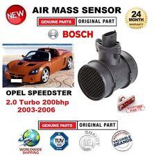 Per OPEL SPEEDSTER 2.0 Turbo 200bhp 2003-2006 Sensore di massa d'aria con alloggiamento 5PIN
