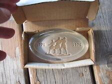 VINTAGE1776-1976 LIMITED EDITION FISHER BICENTENNIAL PAPERWEIGHT-GLEN JONES