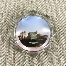 Antique Paperweight Glass Hampshire Romsey Abbey