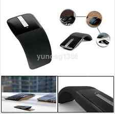 2.4GHz Foldable Wireless Arc Touch Mouse Mice USB 2.0 Receiver for PC New US