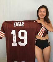 Bernie Kosar signed auto autograph Browns authentic Champion stitched jersey JSA