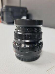 Fujifilm Fujinon XF 35mm F/2.0 R WR Lens