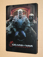 Gears of War Judgment rare Steelbook ( G1 xbox 360 ) NO GAME