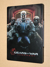 Gears of War Judgment new & sealed  Steelbook ( G1 xbox 360 ) NO GAME