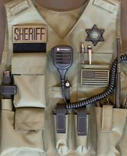 Los Angeles County Sheriff Department / LASD Subdued 3D PVC STAR PATCH