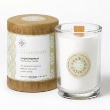 Root Candles Seeking Balance Glass Jar 6.5oz 50 hr burn eco soy WhiteIlluminate
