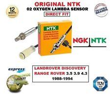 NTK O2 LAMBDA SENSOR for LANDROVER DISCOVERY RANGE ROVER 3.5 3.9 4.3 1988-1994
