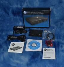 Factory Sealed   HP 3001PR USB 3.0 Port Replicator F3S42AA