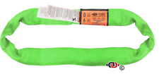 4' GREEN Round Sling - Endless Lifting Sling Heavy Duty Polyester