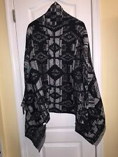 NWT Rip Curl Surf Empire Cardigan Thick Knit Shawl Cascade Sweater Women's S / M