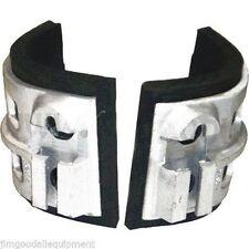 Replacement Cast Aluminum Pads for Climbing Spurs,Fits Buckingham Spurs,Only 2Lb