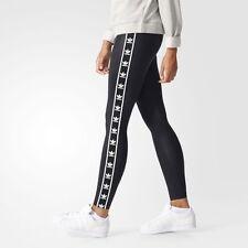 MEDIUM  adidas Originals Women's BERLIN Wet look Slim Fit Trefoil Tights  1AVL