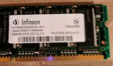 Infineon PC-2100S 256 MB 333 MHz DDR SDRAM Memory HYS64D320HDL 6C 32Mx64