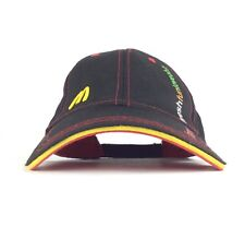 McDonalds Restaurant Famous Fresh Fun Loveable Black Baseball Cap Hat Adj Adult