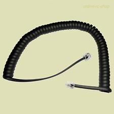 Agfeo T18 Hörerspiralkabel schwarz Hörerkabel Hörer Kabel Spiralkabel T 18