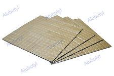 4 sheets 25x25 cm Sound Deadening 0.25 sqm Butyl Noise Proofing Insulation Mat