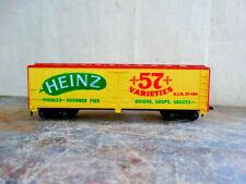 Vintage HO Tyco HEINZ 57 Varieties 40' Reefer Car HJH Co 484