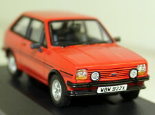 Vanguards 1/43 Scale VA12510 Ford Fiesta Mk1 Supersport Sunburst Red Diecast car