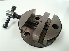 """Amadeal 3"""" Round Vice for Rotary Table or Vertical Slide"""