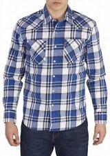 Levi's Barstow Western Blau Kariert Herren Hemd M, L, XL, XXL