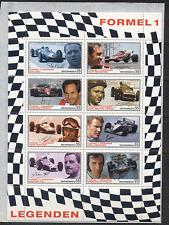 Austria 2007 Leyendas/coches de carreras de fórmula 1/F1/Grand Prix/personas Sht 8v (n17438)
