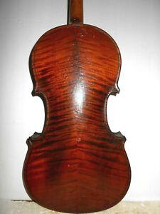 """Vintage Antique Old 1921 """"J. Grey Sipes - Altoona Pa"""" Full Size Violin - NR"""