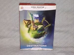 View Master Virtual Reality Destinations Experience Pack New York London Chichen