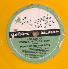 Sandpiper Singers, cond. Mitch Miller on 78 rpm Golden DBR6: 1. You Can Fly