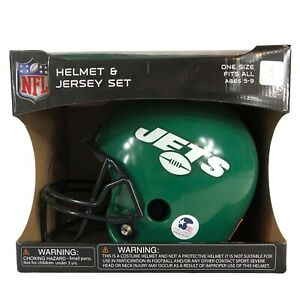 Youth New York Jets Franklin Sports Helmet and Jersey Set NIB Ages 5-9 FREE SHIP