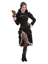 STEAMPUNK RENEGADE LADIES FANCY DRESS PARTY COSTUME FANTASY