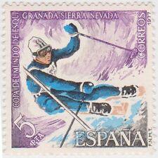 (SPA6) 1977 Spain 5p multicolour fine used ow1977