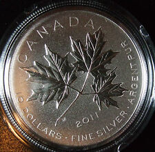 **Limited Edition*  2011 Canada Forever Maple .999 1/2 oz Silver