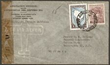 1039 Argentina To Us Censored Air Mail Cover 1944 Buenos Aires - Washington, Dc