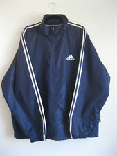 ADIDAS | Men's Retro Navy Blue WATERPROOF Padded Sport Training Jacket | XL