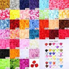 500X 40 Colors Flowers Silk Rose Petals Wedding Party Table Confetti Decoration