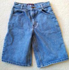 Arizona Jean Company Boys Size 10 Regular Loose Fit Blue Denim Shorts