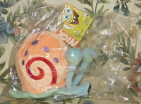 "Sababa Spongebob Squarepants 5"" Gary Snail Plush Stuffed Animal Nickelodeon New"