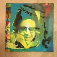 "12"" X 12"" Hector Lavoe Original Painting on Canvas"
