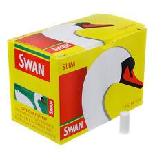 20 Packs x 165 Swan Slim line Filter Tips Slimline 3300 Filter UK Stock FreePost