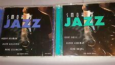 set of 2 smoking jazz cds/new*MADACY -CANADA