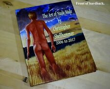 NUDE MALE ART HARDBACK ARTWORKS in 2006 to 2017 by C.SHELLHAMMER