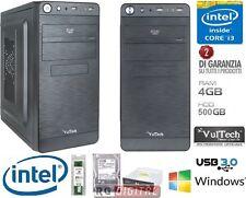PC DESKTOP COMPLETO CPU INTEL i3-4130 3,4ghz MB ASROCK H81M RAM 4GB HD 500GB LG