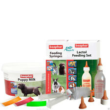 Beaphar Lactol Puppy Bottle Teats Feeding Syringes 250g Milk Whelping Collars