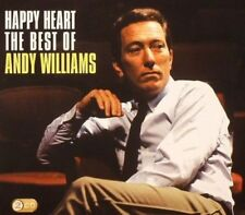 ANDY WILLIAMS HAPPY HEART The Best 2 CD NEW