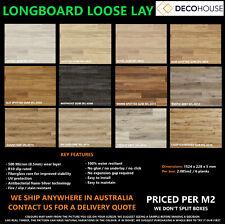 LONGBOARD LOOSE LAY Timber look LUXURY VINYL FLOORING DIY COMMERCIAL WATERPROOF