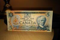 1979 $5 Dollar Bank of Canada Banknote 30179329133 EF 40