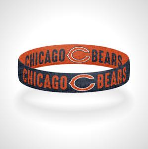 Reversible Chicago Bears Bracelet Wristband Bear Down