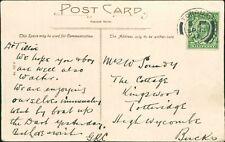 "Mr Soundy. The Cottage, Kingswood, Totteridge. 1912. ""GRC""     AG.681"